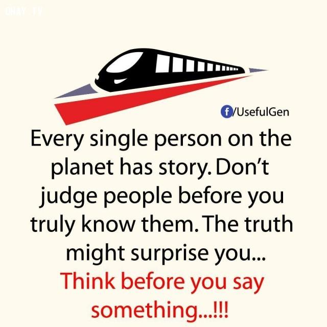 ,Câu chuyện hay,Phát xét người khác,Sự thật đằng sau câu chuyện