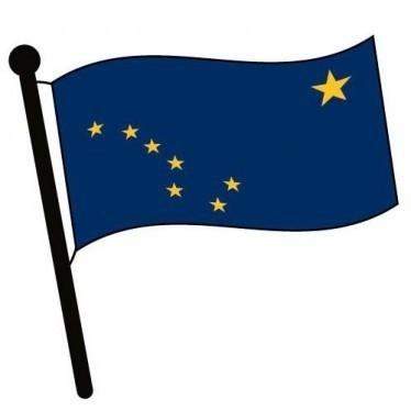7. Lá cờ của Alaska được thiết kế bởi một cậu bé 13 tuổi,những điều thú vị trong cuộc sống,có thể bạn chưa biết