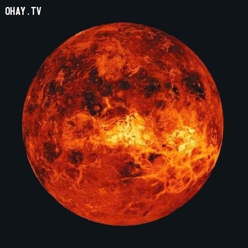9. Sao Kim là hành tinh duy nhất trong hệ mặt trời quay ngược chiều kim đồng hồ,những điều thú vị trong cuộc sống,có thể bạn chưa biết