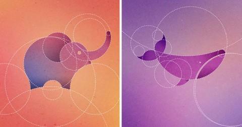 Mẹo vẽ động vật từ 13 vòng tròn cực đỉnh