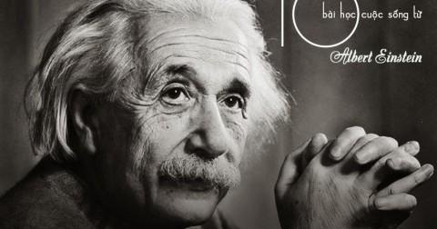10 Bài học cuộc sống bạn có thể học được từ Albert Einstein .
