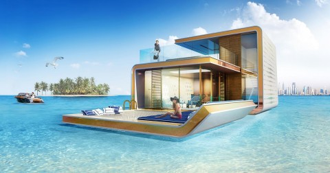 Chiêm ngưỡng villa 7 NỔI 3 CHÌM giữa biển Dubai