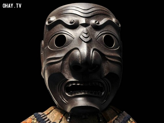 Mũ giáp hay Kabuto trong tiếng nhật.,mặt nạ kỳ dị,khám phá,mặt nạ sắt