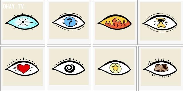 Hãy chọn 1 bức tranh khiến bạn ấn tượng nhất trong số 8 hình sau,trắc nghiệm vui,trắc nghiệm tính cách,trắc nghiệm tâm lý,tâm lý học