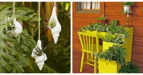 12 ý tưởng tuyệt vời để tạo ra khu vườn thẳng đứng trong nhà bạn