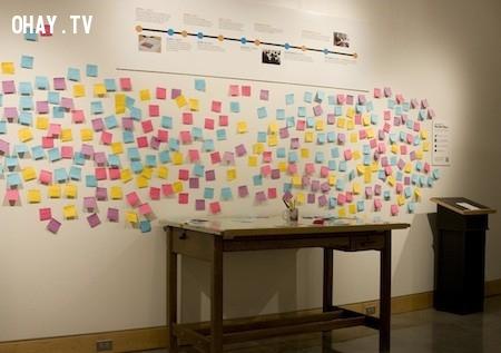Những mẫu giấy sticker hay còn gọi là giấy note đã được nhà khoa học Arthur Fry phát minh từ năm 1974 và tính đến nay đã được bán tại hơn 100 quốc gia trên toàn thế giới.,sản phẩm độc đáo,sản phẩm hoàn hảo,những điều thú vị trong cuộc sống,khám phá