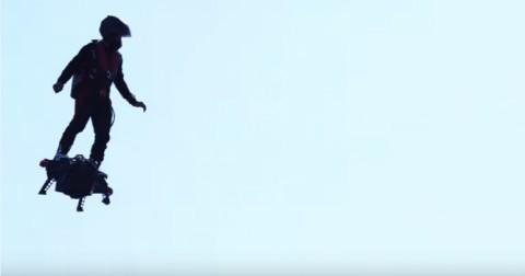 Kỷ lục người bay xa nhất với Flyboard Air được xác lập