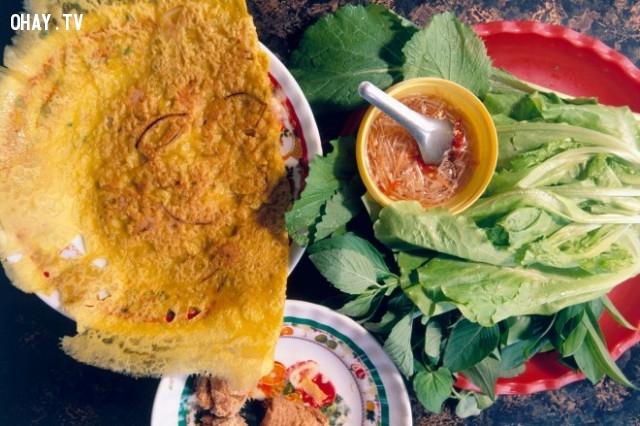 Bánh xèo,món ăn nổi tiếng,ẩm thực việt nam,du lịch việt nam