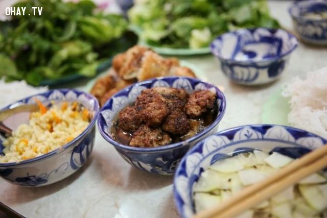 Bún chả,món ăn nổi tiếng,ẩm thực việt nam,du lịch việt nam
