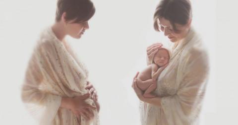 15 bức ảnh thú vị của người mẹ trước và sau khi mang thai