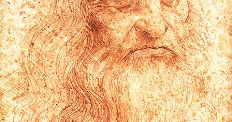 Bức tự họa bí ẩn của Leonardo da Vinci