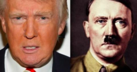 Bất ngờ sự giống nhau giữa tỉ phú Donald Trump và Adolf Hitler