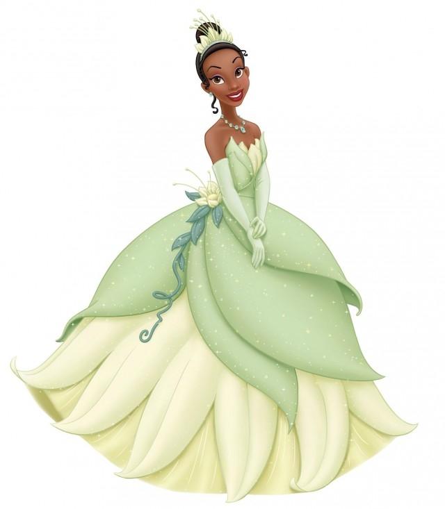 """Ca sĩ Beyoncé đã được mời lồng tiếng cho nhân vật Tiana trong """"Công chúa và chàng Ếch"""", nhưng cô từ chối tới thử giọng, sau đó công việc này thuộc về người bạn diễn của cô trong bộ phim """"Giấc mơ danh vọng"""", Anika Noni Rose.,sự thật thú vị,những nàng công chúa Disney"""