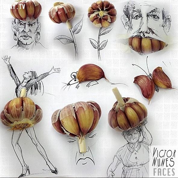 ,kiệt tác nghệ thuật,họa sĩ Victor Nunes,sáng tạo,sản phẩm độc đáo,vật dụng thường ngày