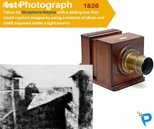 8. Bức ảnh đầu tiên được chụp vào năm 1826,khám phá,những phát minh đầu tiên,những điều thú vị trong cuộc sống