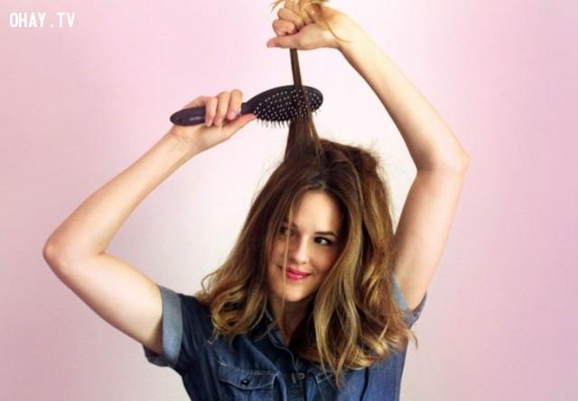 Chải tóc dễ dàng,tóc dài,sự thật đắng lòng