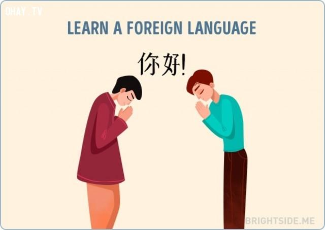 Học một ngoại ngữ mới,vượt qua nỗi buồn,cuộc sống,cách sống tốt
