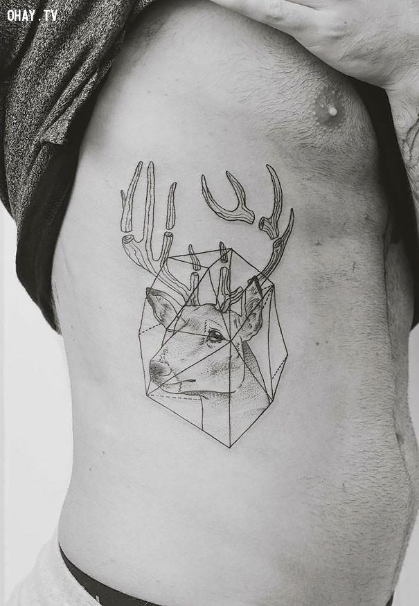 ,Hình xăm độc đáo,tattoo nhỏ