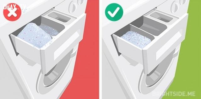 2. Sử dụng quá nhiều bột giặt,máy giặt,giặt quần áo đúng cách,mẹo hay