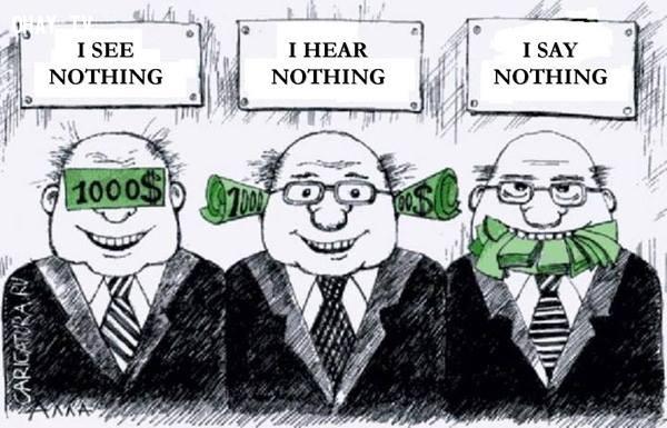 11. Trước sức mạnh của đồng tiền, người ta có thể sẵn sàng đui mù câm điếc.,sự thật về tiền,tiền là gì,sức mạnh đồng tiền
