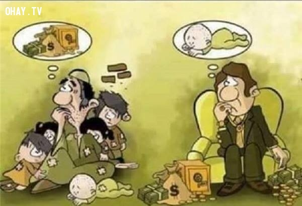 16. Định nghĩa về cái nghèo khổ của mỗi người mỗi khác nhau.,sự thật về tiền,tiền là gì,sức mạnh đồng tiền