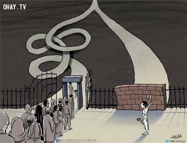 17. Cùng một mục tiêu như nhau nhưng người ta thường chọn con đường xa hơn vì họ không dám phá bỏ rào cản trước mắt.,sự thật về tiền,tiền là gì,sức mạnh đồng tiền