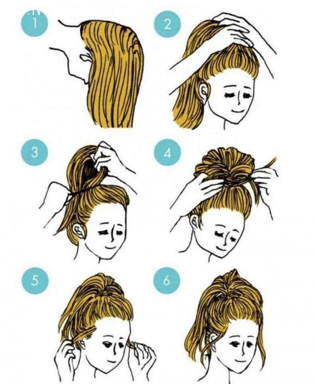 ,kiểu tóc đẹp,kiểu buộc tóc đẹp,kiểu buộc tóc đơn giản,mẹo vặt