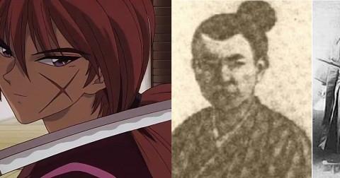 Tạo hình trong manga của những nhân vật lịch sử có thật
