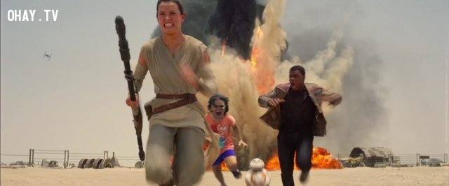 Còn đây là bom tấn Star War 7,troll photoshop,con công,sở thú,cộng đồng mạng