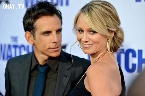 Ben Stiller và Christine Taylor,cặp đôi đẹp,Hollywood