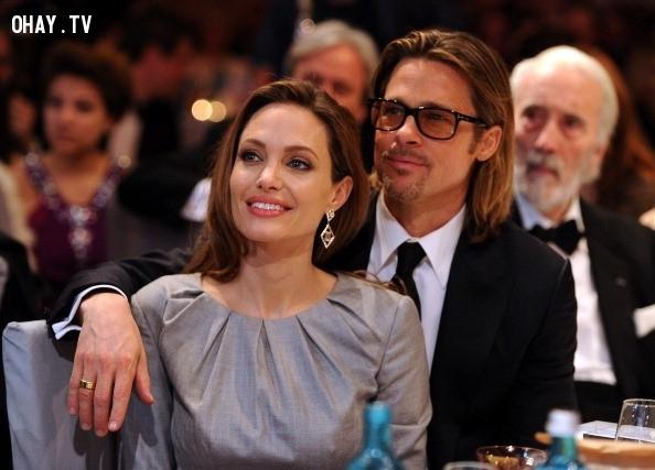 Angelina Jolie và Brad Pitt,cặp đôi đẹp,Hollywood