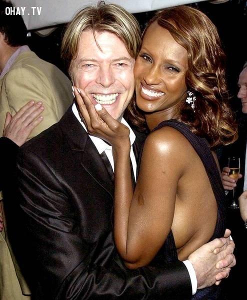 David Bowie và Iman ,cặp đôi đẹp,Hollywood