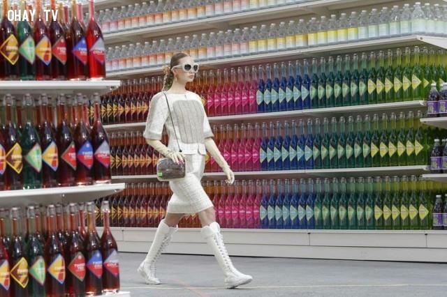 ,thời trang,Chanel,người mẫu,độc đáo