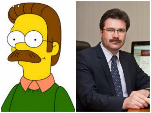 Ned Flanders, The Simpsons,hoạt hình,Elsa,Frozen,Despicable Me,Minions