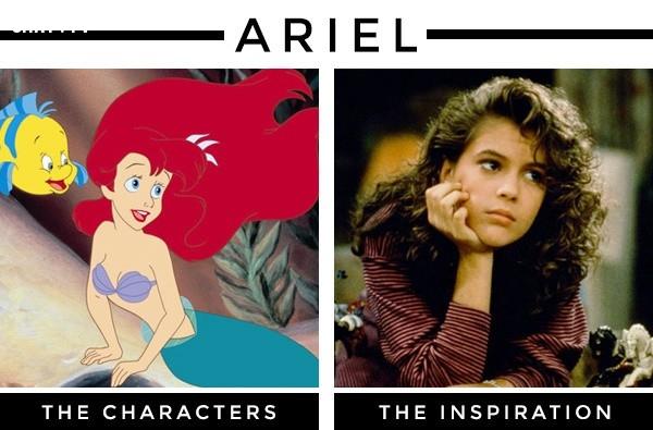 Nàng tiên cá Ariel lấy cảm hứng từ nữ diễn viên Alyssa Milano,nhân vật hoạt hình,nguyên mẫu,những điều thú vị trong cuộc sống