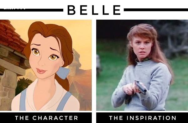 """Nàng Belle trong """"Người đẹp và Quái vật"""" lấy cảm hứng từ diễn viên, nhà biên kịch và sản xuất Sherri Stoner ,nhân vật hoạt hình,nguyên mẫu,những điều thú vị trong cuộc sống"""