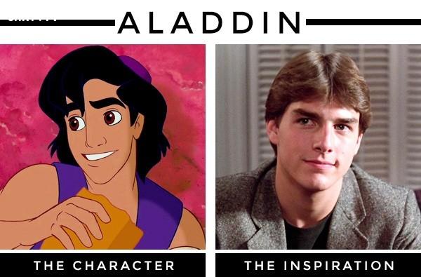 Aladdin lấy cảm hứng từ diễn viên Tom Cruise,nhân vật hoạt hình,nguyên mẫu,những điều thú vị trong cuộc sống