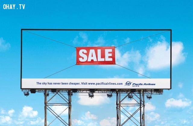 Công ty này bán cả một phần bầu trời ư?,biển quảng cáo sáng tạo,tổng hợp,những biển quảng cáo