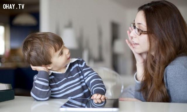 Hãy nói với trẻ:,kinh nghiệm nuôi dạy con,nuôi dạy con cái,làm cha,làm mẹ,dạy dỗ con cái,tâm lý con cái