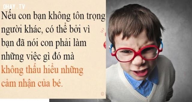 Con trẻ hỗn xược, không tôn trọng người khác.,thói xấu của trẻ,sai lầm của cha mẹ,phong cách sống