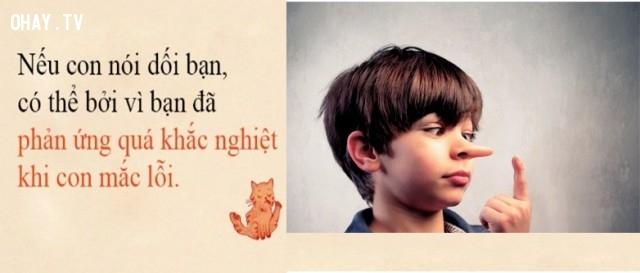 Thói xấu nói dối của con trẻ.,thói xấu của trẻ,sai lầm của cha mẹ,phong cách sống