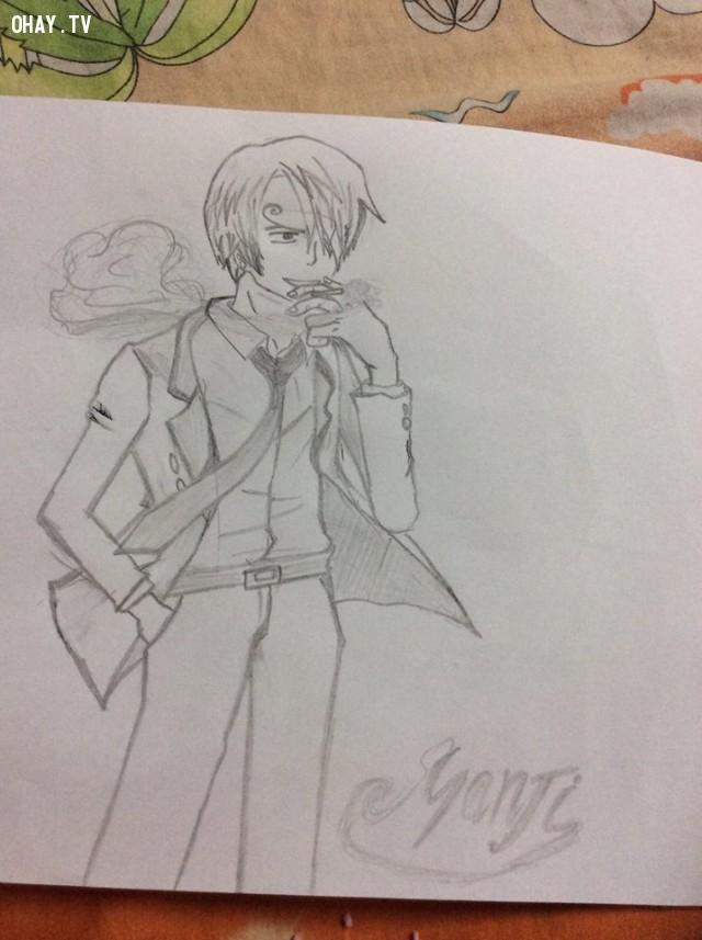 Sanji,one piece