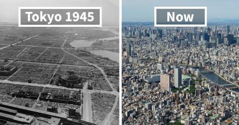 Chùm ảnh về sự thay đổi chóng mặt của những thành phố nổi tiếng theo thời gian