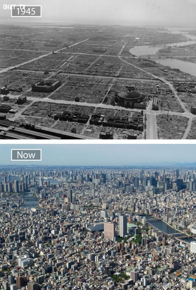 5. Tokyo, Nhật Bản,thành phổ,sự thay đổi,phát triển nhanh chóng