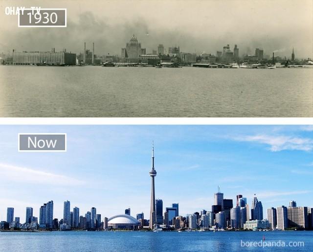 10. Toronto, Canada,thành phổ,sự thay đổi,phát triển nhanh chóng