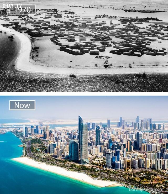 9. Abu Dhabi, Các tiểu vương quốc Ả Rập Thống nhất ,thành phổ,sự thay đổi,phát triển nhanh chóng