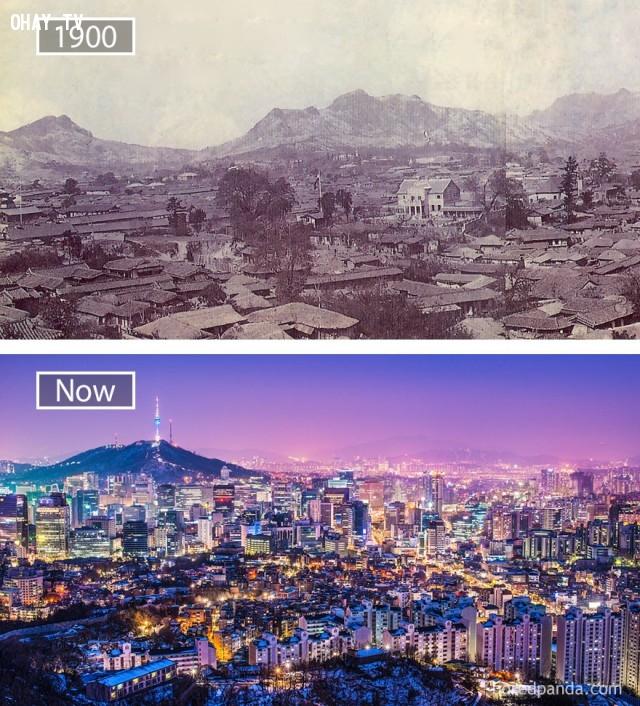 2. Seoul, Hàn Quốc,thành phổ,sự thay đổi,phát triển nhanh chóng
