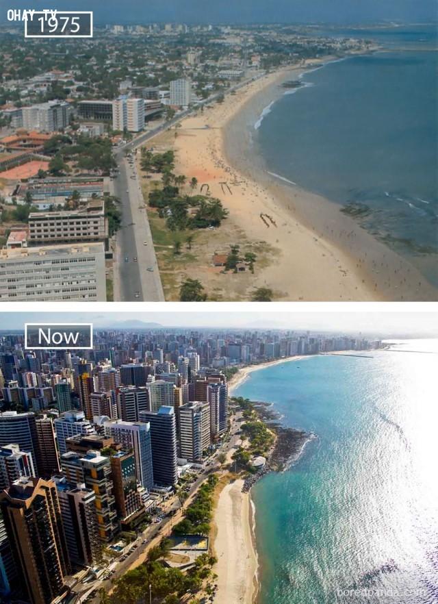 6. Fortaleza, Brazil,thành phổ,sự thay đổi,phát triển nhanh chóng