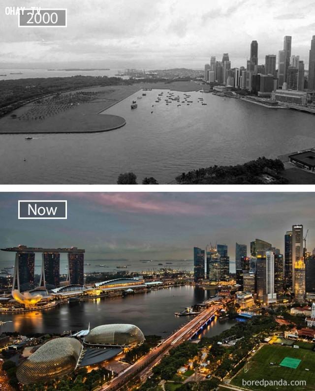 4. Singapore,thành phổ,sự thay đổi,phát triển nhanh chóng