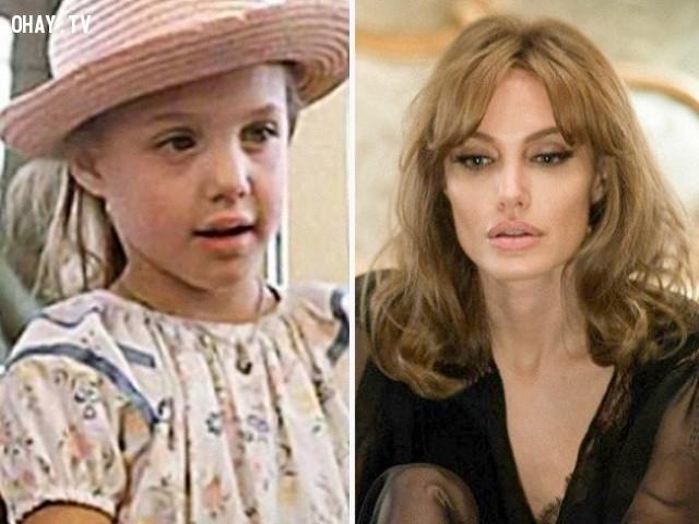 14. Angelina Jolie trong Lookin' to Get Out (1982) và By the Sea (2015),diễn viên nổi tiếng,vai diễn debut